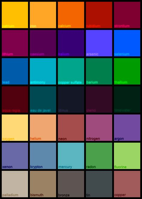 List Of All Hair Colors by Image Result For List Of Colors Color And Shape Paint