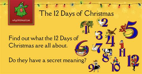 The 12 Days Of Christmas  Christmas Customs And Traditions Whychristmas?com