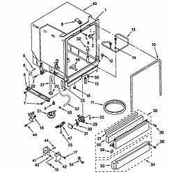 kenmore model 66515752000 dishwasher genuine parts With wash dishwasher model 665 as well kenmore 665 dishwasher parts diagram