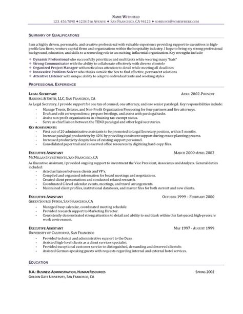 sle general resume objective template receipt
