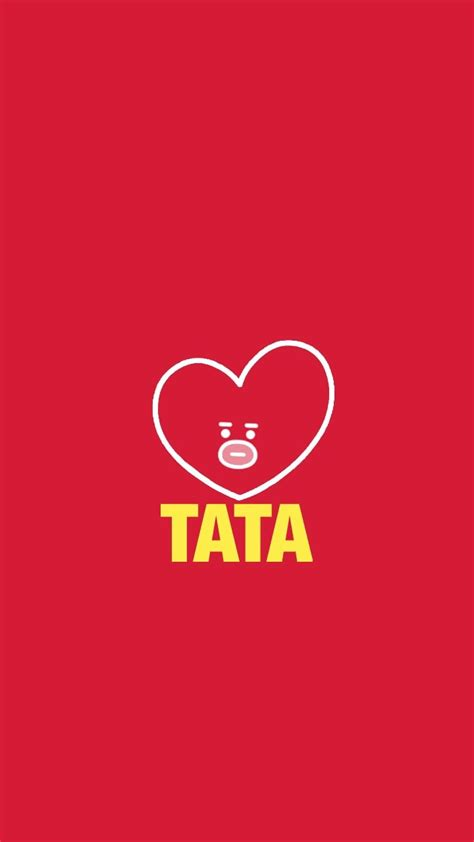 Tata Backgrounds by Bt21 Tata Wallpapers Wallpaper Cave