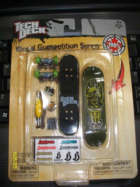 Tech Deck Wood Competition Series Ebay by Ultrajeux Finger Skate Wood Competition Series Tony Hawk