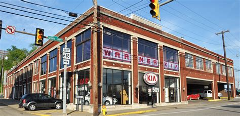 Warner Kia west virginia car showrooms dealerships