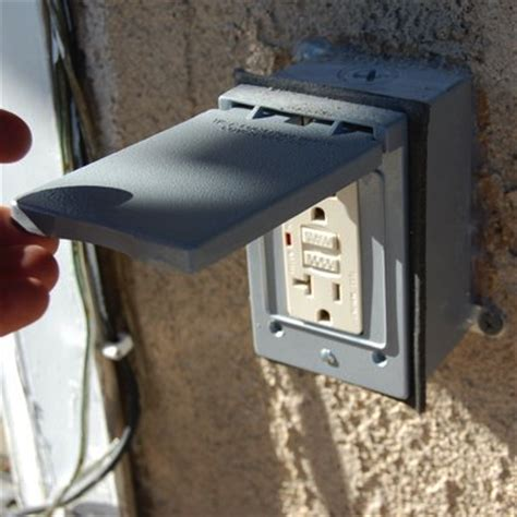 outdoor l post with outlet charge up your electrician 39 s to do list mr mighty electric