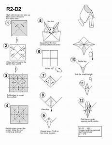 Paper Star Wars Origami Diagrams