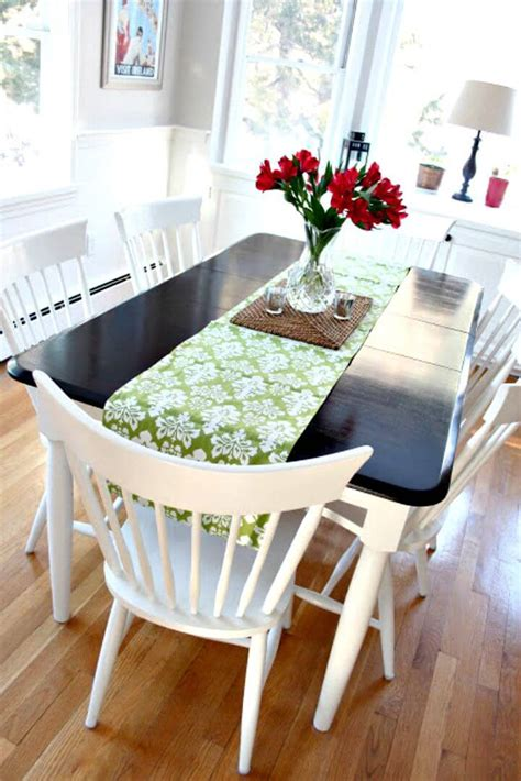kitchen table makeover 75 diy table makeover ideas to upgrade your tables diy 3226