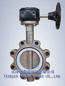 China Full Lug Type Butterfly Valve