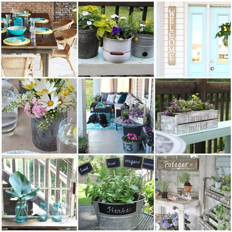 Gorgeous Country Farmhouse Outdoor Decor Ideas