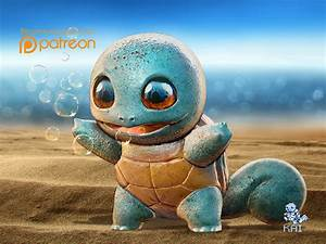 Realistic Pokemon: Squirtle by KaiKiato on DeviantArt