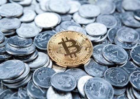 Buy and sell cryptocurrency at the best price, with no hidden fees. Gold Coin Bitcoin On Russian Ruble Coins Stock Image ...