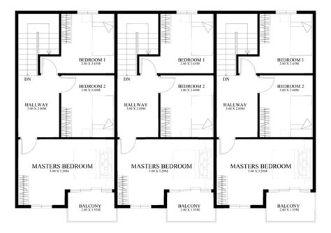 townhouse plans series php 2014010