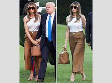 Melania Trump and son Barron move into the White House