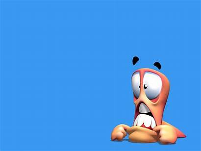 3d Character Worms Funny Characters Wallpapers Resolution