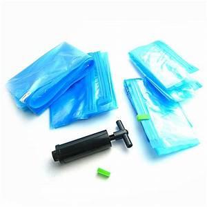 Sac De Rangement Sous Vide Gifi : 8x sacs housse de rangement sous vide pour vetement couette ~ Dailycaller-alerts.com Idées de Décoration