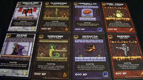 Boss monster is a game about maximizing the cards you play. DumeeGamer.com - Boss Monster