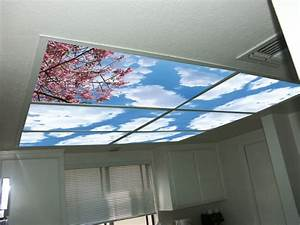 Skypanels turn your ceiling light panels into an image of