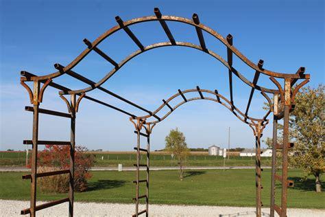 Garden Arch Tunnel by Metal Patterson Pergola 11 Garden Tunnel Wedding Arch