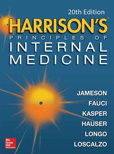 Harrison Medicina Interna Ebook - harrison s principles of medicine 20e