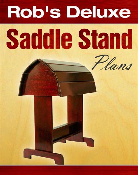 robs wooden saddle rack plans