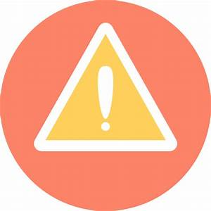 Warning - Free signs icons