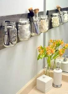 10 rangements salle de bain pour un gain de place maxi With idee rangement petite salle de bain