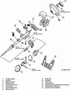 1999 Mazda Mx 5 Dash Removal Diagram Column Shiffter