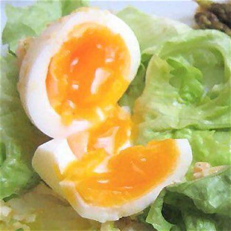 le temps de cuisson des œufs mollets