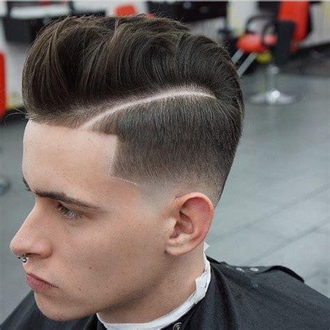 modern pompadour haircut  men pomp   dude