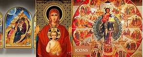 Eastern Orthodox Christian Icons in Byzantine, Russian and ...