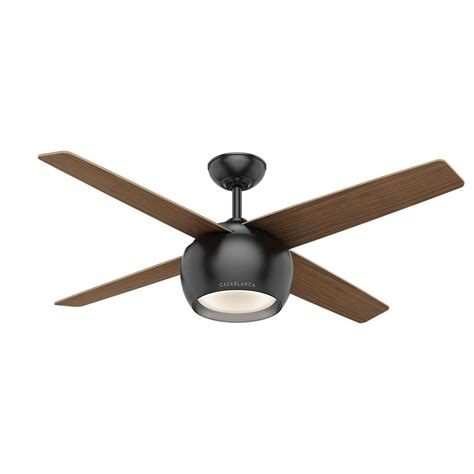 matte black ceiling fan hunter chronicle 54 in outdoor matte black ceiling fan