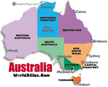 australia time zone map current times