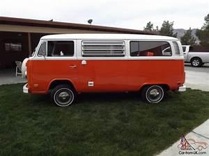 1974 Classic Vw Bus Westfalia Tintop Weekender Camper