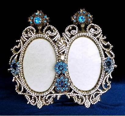 Jewelry Brass Artisan Frames Jeweled Frame Jewel