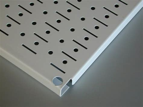 beige peg board tan metal pegboard    wall control