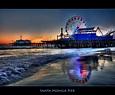 Santa Monica | Another view of the Santa Monica Pier ...