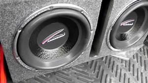Audiobahn 12 U0026quot  Natural Sound Aw1251j Subwoofers Hifonics