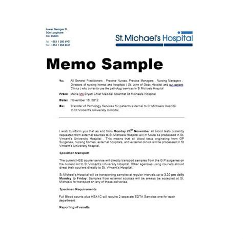 Business Memo Format Template by Business Memo Templates 40 Memo Format Sles In Word