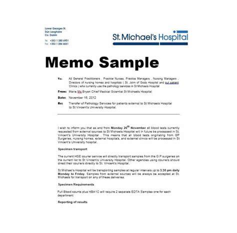 Business Memo Templates  40 Memo Format Samples In Word