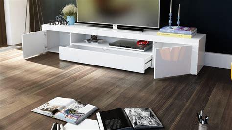meuble cuisine blanc laqué meuble tv moderne laqué blanc 200 cm avec led pour meubles
