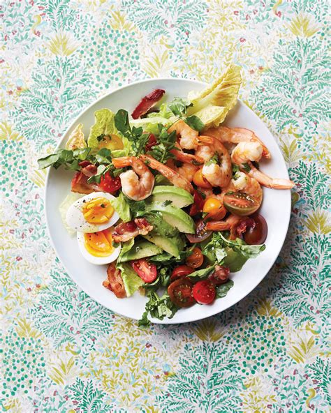 12 Main-Dish Summer Salads Packed with Protein and Veggies | Martha Stewart