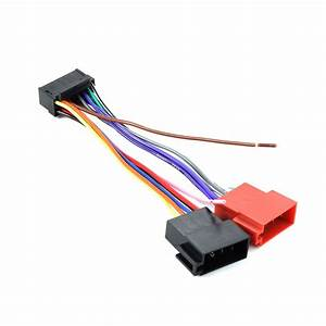 16 Pin Iso Wiring Harness Connector Adaptor Loom For Sony