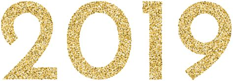 Gold 2019 Png Clip Art Image