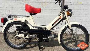 White Puch Newport L  Sold   U2013 Detroit Moped Works