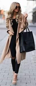 Tenue Printemps Femme : choisir le plus l gant manteau long femme parmi les photos ~ Melissatoandfro.com Idées de Décoration