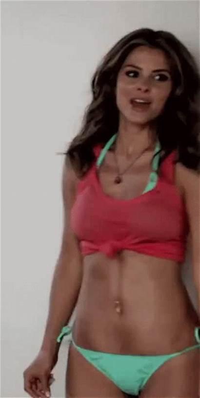 Maria Menounos Gifs Celebrity Dancing Bikini Ass