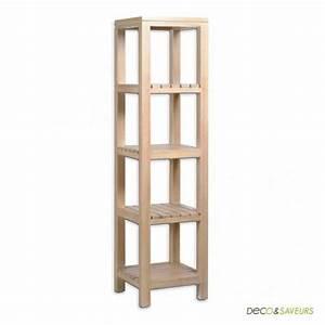 Colonne De Douche Bois : colonne salle de bain en bois la maison cassette achat ~ Dailycaller-alerts.com Idées de Décoration