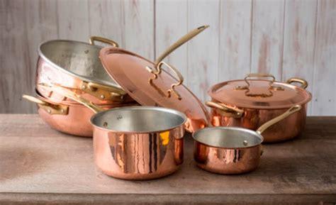 clean copper pots  pans