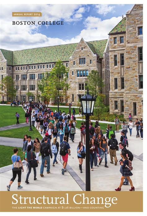 Boston College by Boston College Annual Report 2014 By Boston College Issuu