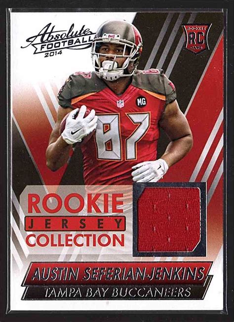 2014 Absolute Rookie Jersey Collection Austin Seferian ...