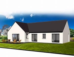 Style De Maison : style d 39 architecture maison plain pied kermor habitat ~ Dallasstarsshop.com Idées de Décoration